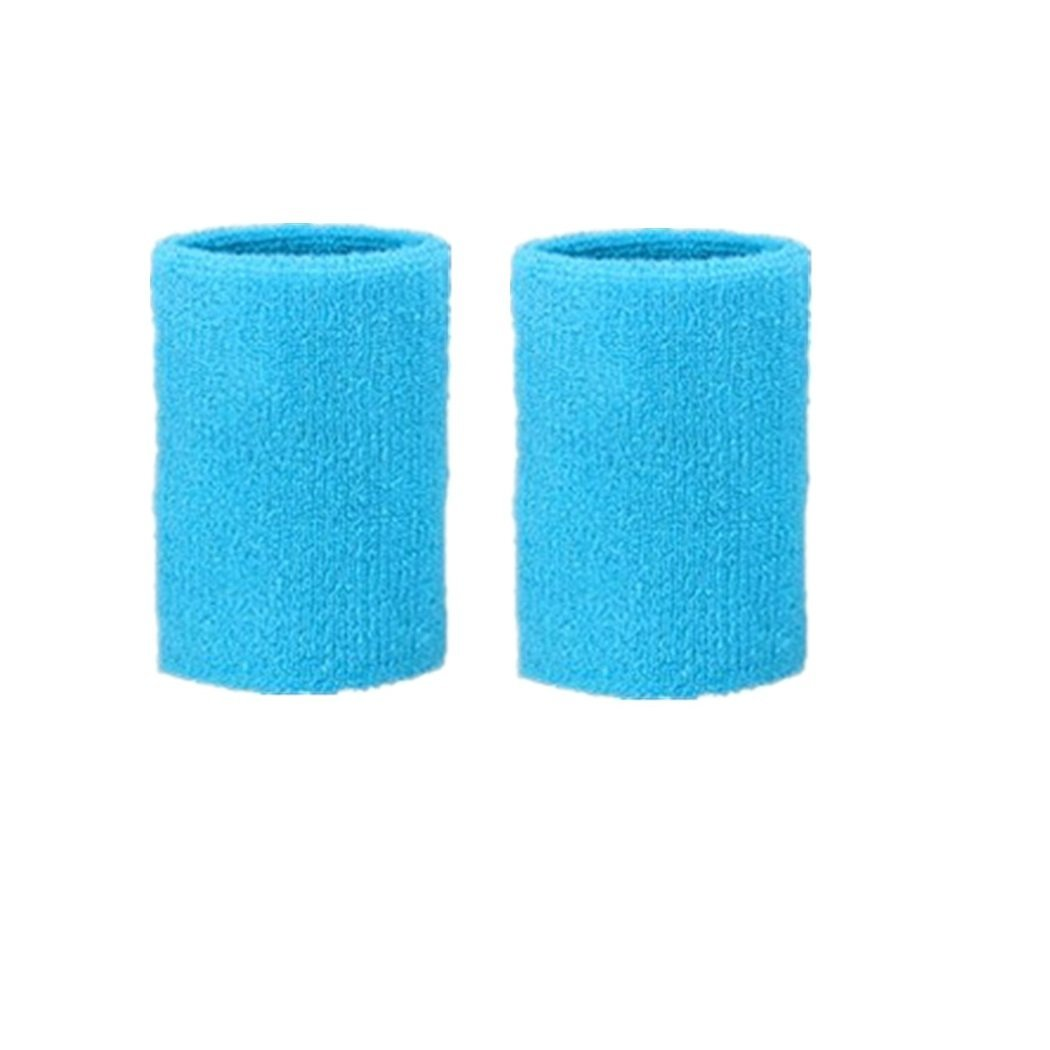 Kagogo 3 Inch Cotton Sports Wristband / Sweatband For Basketball Tennis And Other Sports, Price/Pair