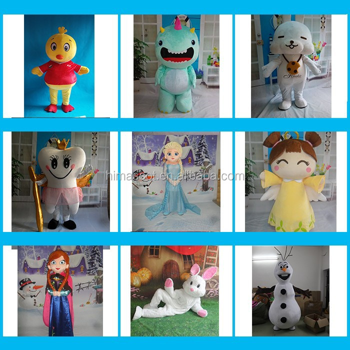 HI CE famous cartoon character mascot costume for wholesale