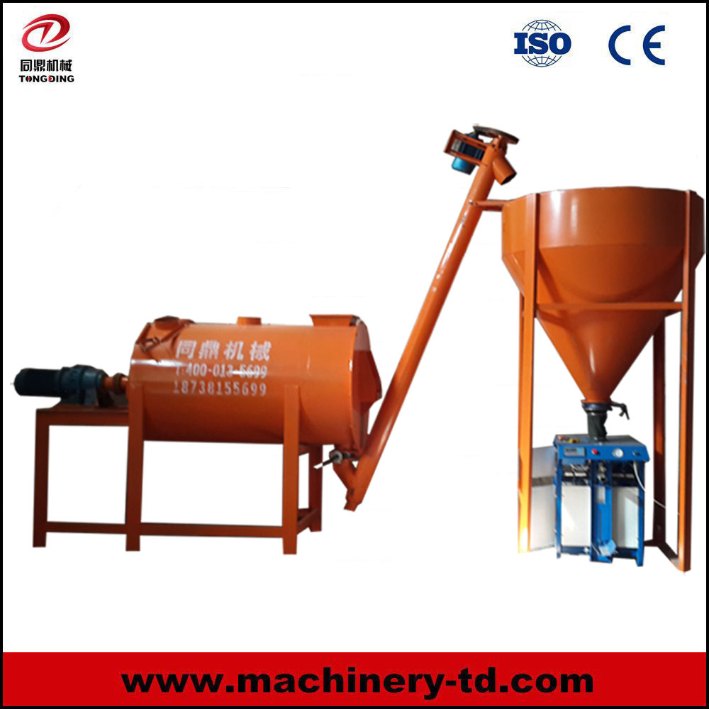 L01 1T Tile Adhesive Mixer Wall Putty and Ceramic Tile Mixing Dry Mixer Manufacturing Plant