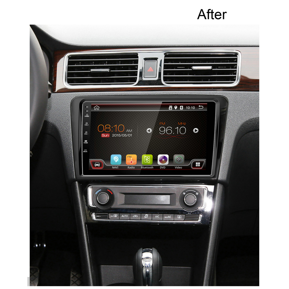 9 zoll android autoradio f r vw santana dvd auto dvd. Black Bedroom Furniture Sets. Home Design Ideas
