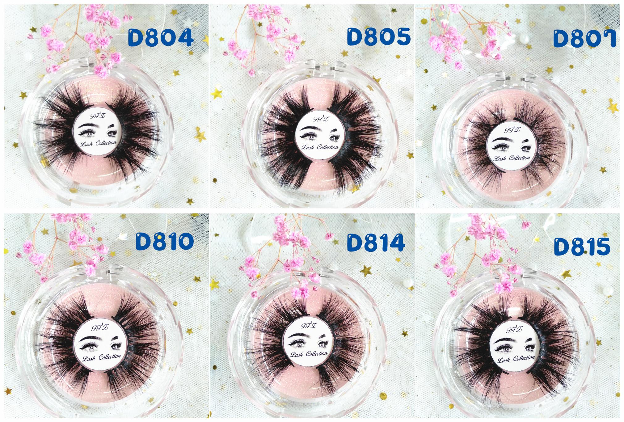 25 มม. ขนตาปลอมคุณภาพสูง crossing double layered handmade 3d ขนตาบรรจุภัณฑ์ 100% real mink eyelash extension