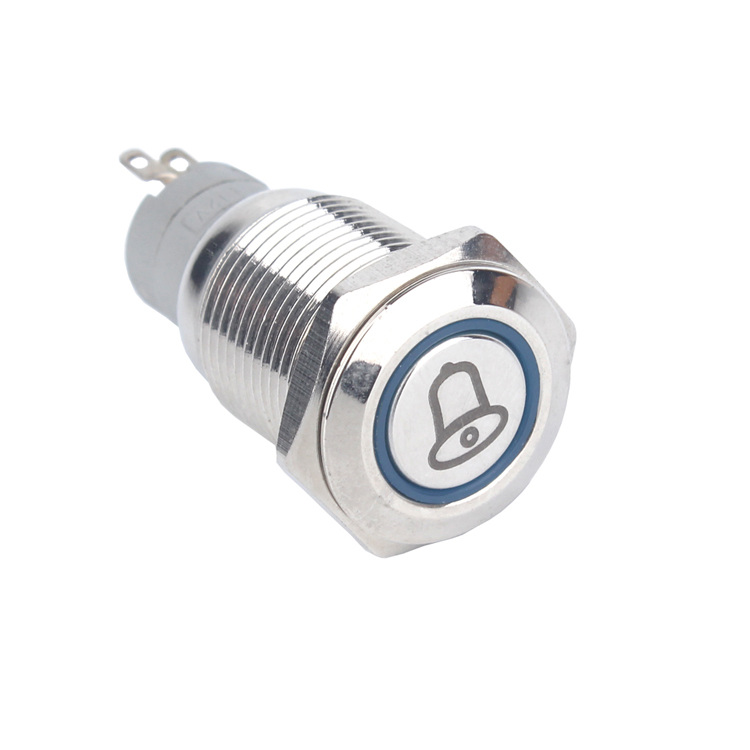Sincere Low Shipping Cost Dia.16mm 2 Position Illuminated Led Light Selector Push Button Switch 1no+1nc Rohs Lighting Accessories