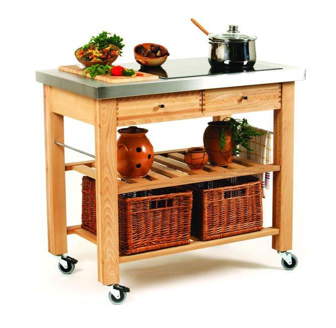 Carrelli portavivande di legno della cucina mobili per cucina id prodotto 122334775 italian - Carrelli per cucina ikea ...