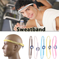 2016 New Generation of Products Outdoor Accessories Silicone Sweatband Sports Headwear Running Cycling Sweat Control Head