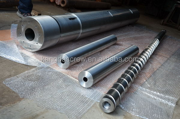 Special hot sell alloy extruder twin conical screw barrel