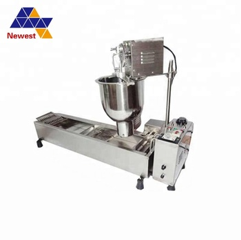 With 3 moulds mini donut fryer machine/automatic donut forming machine/donut machine maker price