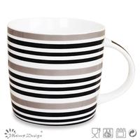 Bone china coffee mug with logo decal,porcelain magic mug china supplier