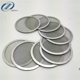 Factory supply 304 306 306L stainless steel round filter screen disc for filter assemblies and spare parts