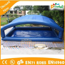 inflatable swimming pool with roof/inflatable square swimming pool/indoor portable swimming pool