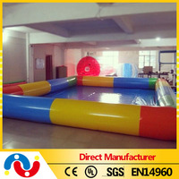 New designed inflatable swimming pool inflatable above ground water pump swimming pool