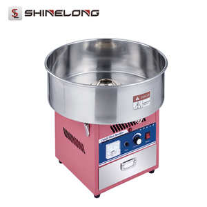 Electric Mini Cotton Candy Floss Machine for Sale Commercial / Flower Cotton Candy Maker