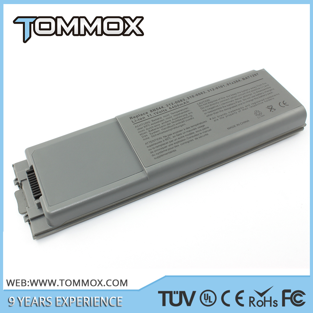 Replacement laptop battery for DELL D800 series