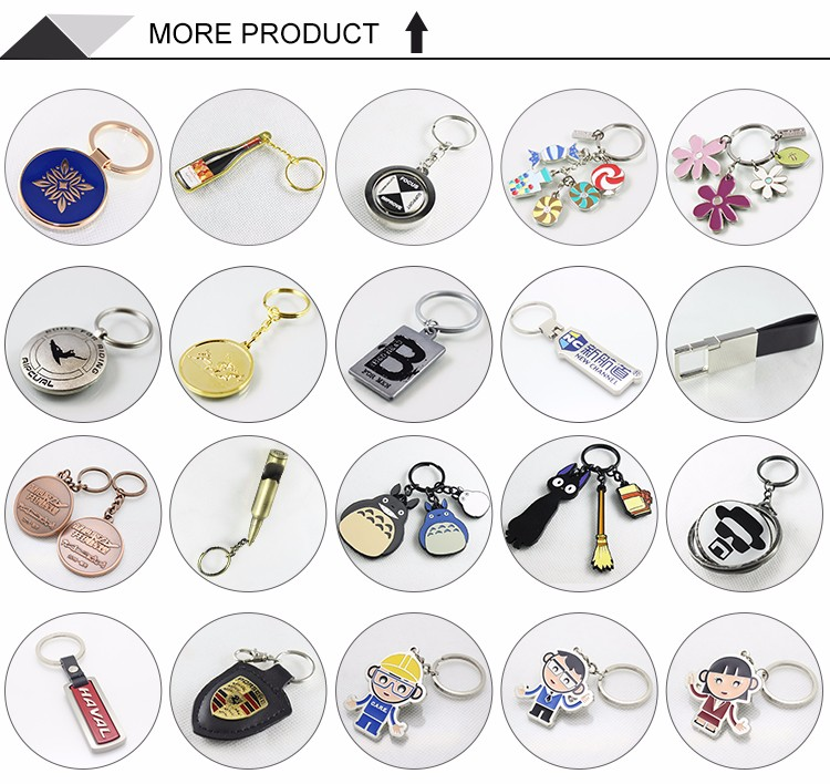 Top Quality Flower Cheap Factory Sale Printing Key Chain