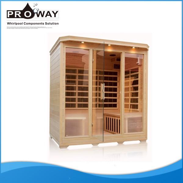 1750x1350x1900mm Indoor Good Far Infrared Sauna Room