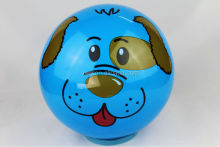 Environmental protection material animals face pvc balls inflatable / inflatable pvc ball /Wholesale Cheapest Balls