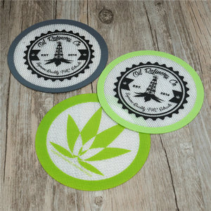 hot selling dab smoke pipe heat resistance silicone dab mat wax oil silicone dab mat