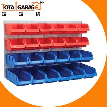 Cheap Plastic Storage Bin Garage Slat Wall Plastic Bins Warehouse Storage  Bins