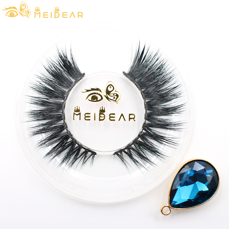 Custom packaging hand made blink lashes