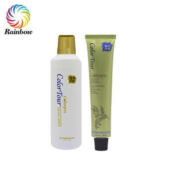Best selling products anti-allergy no ammonia no peroxide permanent hair color cream