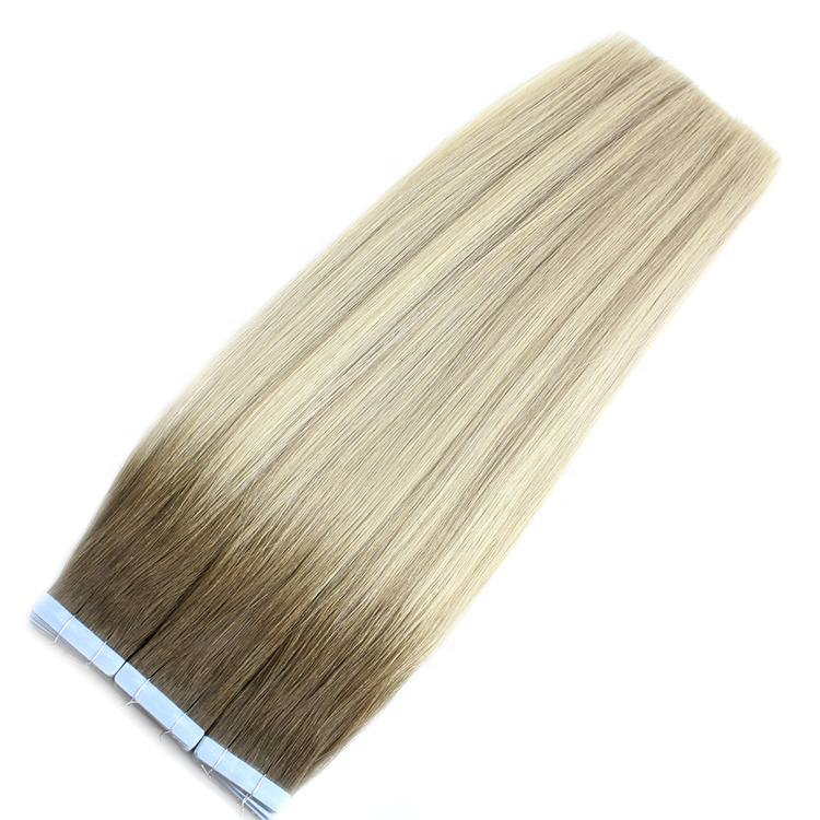 Large Stock Top Quality Virgin Hair 100 Remy Human Double Drawn Tape Hair Extensions
