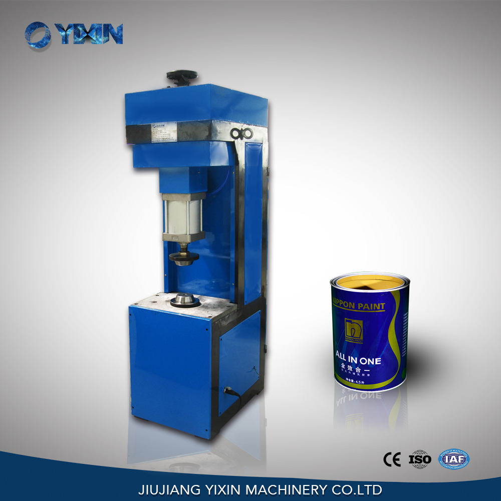 Yi Xin Machinery semi-automatic pnuematic flange machine for can making