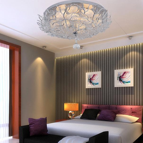 Bedroom Light Fixtures Ideas: Round Aluminum Ceiling Living Room Roof Ceiling Lighting