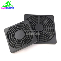 3 in 1 plastic computer fan dust filter/120mm fan plastic cover grill guard