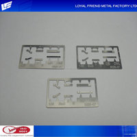 Low Cost High Accuracy Silver Engrave Model Parts