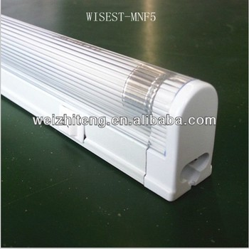 High Quality T5 Single Tube Fluorescent Lighting Fixture Luminaire ...