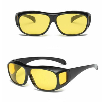 Night Vision Driver Goggles Sunglasses Unisex HD Vision Sun Glasses Eyewear UV Protection Car Driving Glasses
