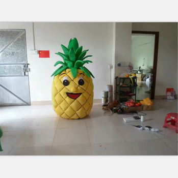 Enjoyment CE Pineapple costume mascot/ Adults fruit costume for sale