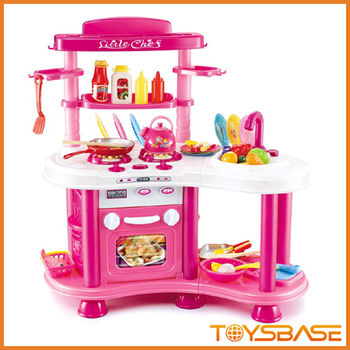 China Toys/plastic Toys For Children/kitchen Toy Set - Buy Kitchen ...