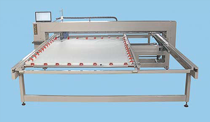 कम्प्यूटरीकृत लंबे हाथ quilting रजाई के लिए सिलाई मशीन