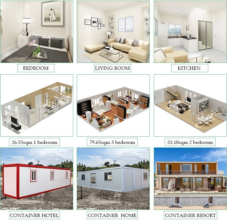 Puerto Rico 2 Story Container House Design From Hebei Baofeng - Buy 2 Story  Container House,Puerto Rico Container House,Container House Design From