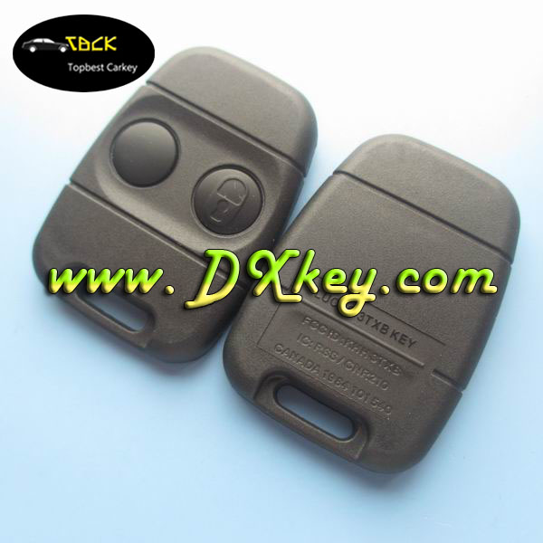 "High quality 2 buttons key shell with ""LOCK"" sign on the button for land rover key cover remote control cars"