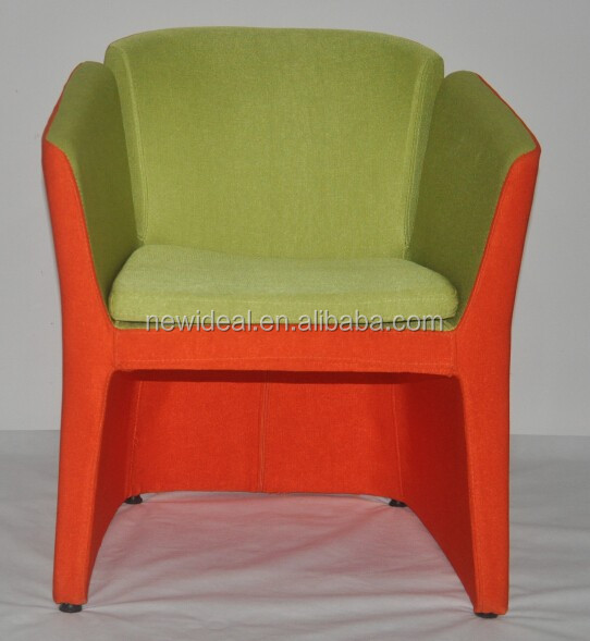 Mix color modern armchair, patchwork armchair (NS2618)