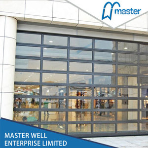 Best price glass garage door / CE approved glass garage door / Tempered glass garage door prices