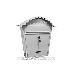 Wall Post Security Mailbox with Small lock