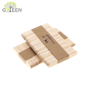 Biodegradable Disposable White Round Wooden Craft Sticks