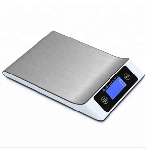 New Design Household High Accuracy  5/10/15Kg Stainless Steel Digital Kitchen Food Weighing Scale With Led Display