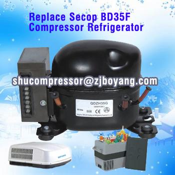 remplacer secop bd35f 40l portable mini compresseur 12 volts r frig rateur compresseur pour dans. Black Bedroom Furniture Sets. Home Design Ideas