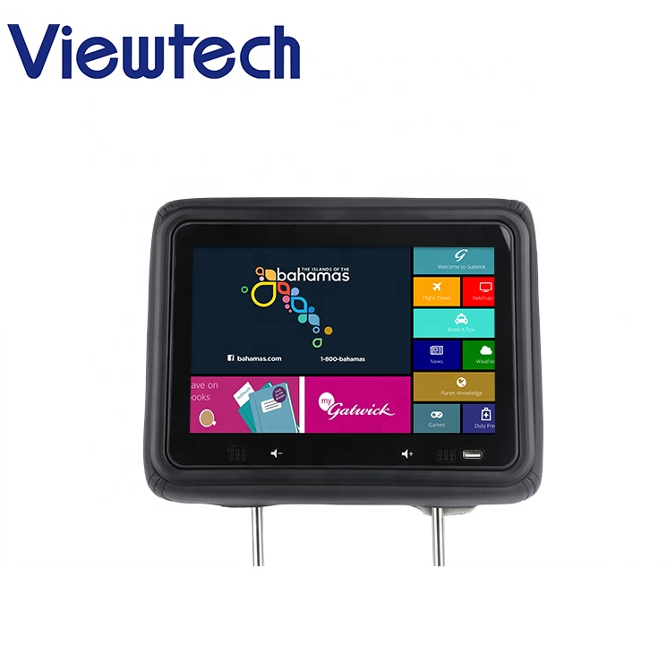 10 1'' 3g / 4g Wifi Interactive Taxi Advertising Screen With Apk Software +  Cloud Platform - Buy Headrest Taxi Advertising Player,Taxi Advertising