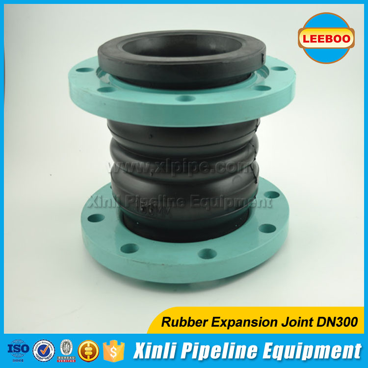 ANSI/DIN standard flexible flange type rubber expansion joint for Pipeline