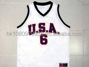 buy popular 3f83e 5a8cc Promo Sales Lebron James Team Usa Jersey White Any Size Xs - Buy Basketball  Jersey Product on Alibaba.com
