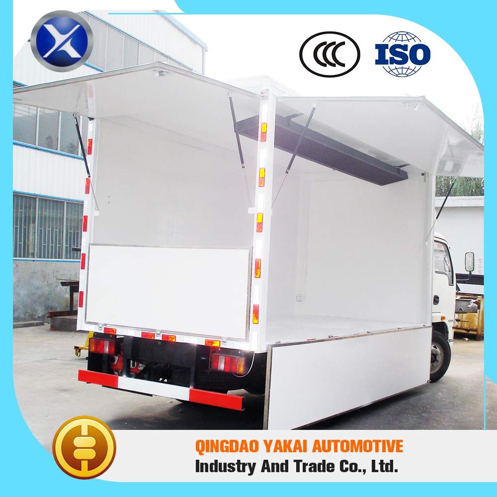 Beautiful appearance top quality box panels mobile food trucks body