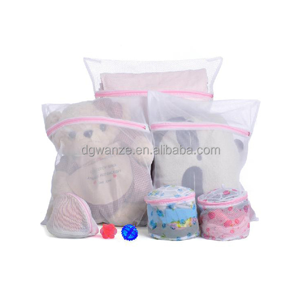 High Quatilty Polyester net mesh laundry washing bag lingerie wash bags nylon reusable laundry bags wholesale
