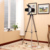 Industrial Nordic American Creative Studio Retro silver chrome golden Floor Light Tripod Searchlight Additional Net Floor Lamp