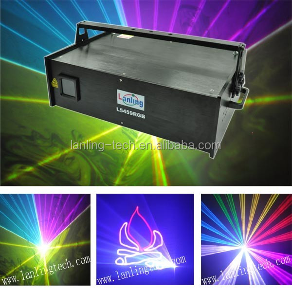 5W rgb ILDA animation laser show light high building display photos laser light