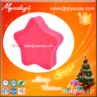 2015 Christmas decorations star sponge wholesale product XMAS-027