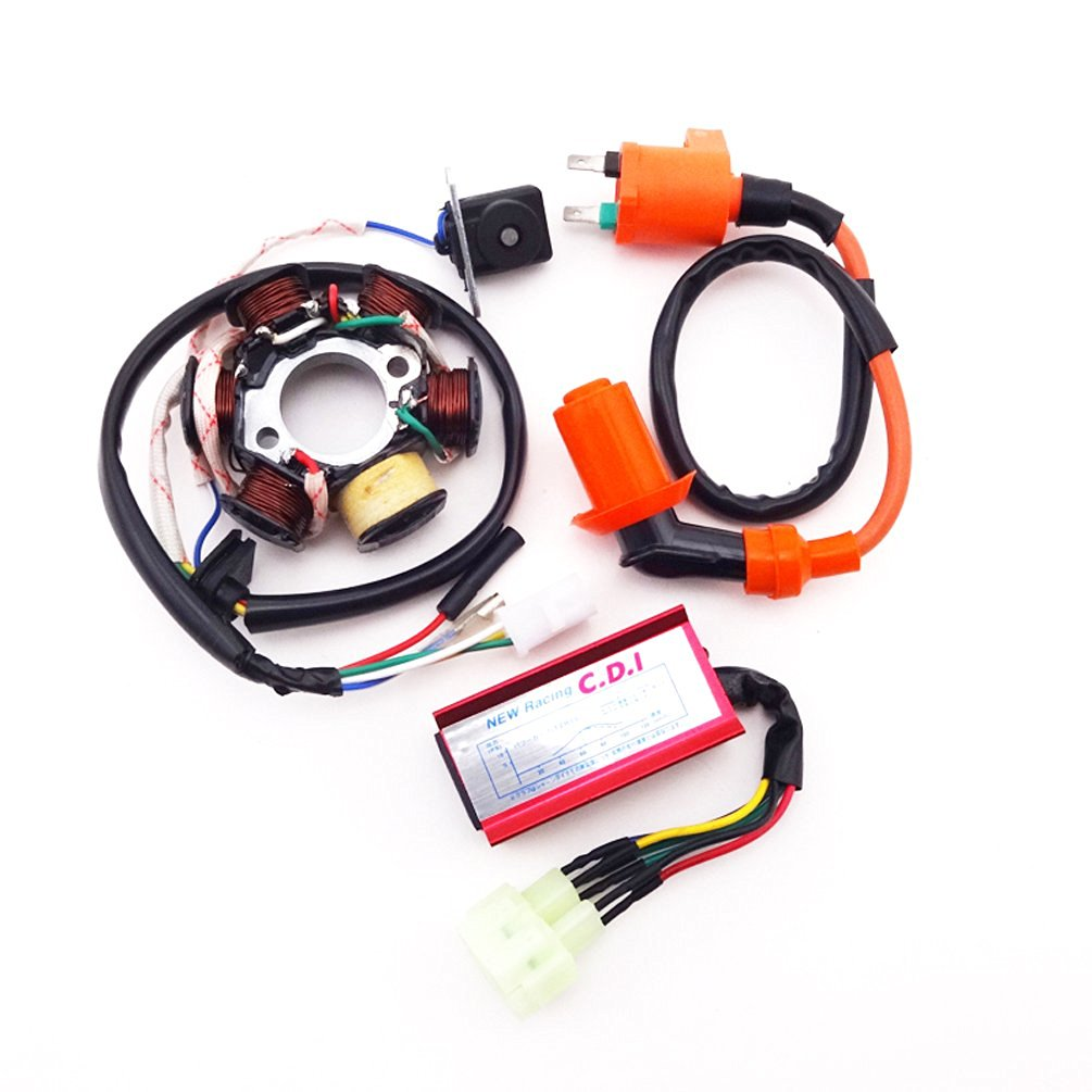 Buy Xljoy 6 Poles Stator Magneto Racing Ignition Coil Pin Ac Cdi Scooter Wiring Box For Gy6 50cc